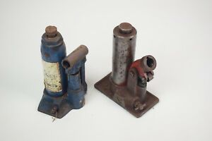 Pair Of Small Vintage Bottle Jacks Vikings