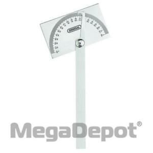 General Tools 17 Square Head Steel Protractor