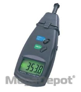 General Tools Pct2236b 0 To 19 999 Rpm Contact non contact Laser Tachometer