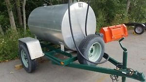 280 Gallon Aluminum Fuel Trailer Electric Pump