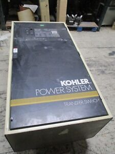 Kohler Automatic Transfer Switch K 564431 800 800a 240v 1ph 3w 3p 60hz Used