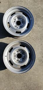 1967 Corvette Rally Wheels 15x6 Dg Dc Code