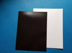 10 Sheets Of Plain White Magnet Sheet 8 5 x11 Sign Quality Magnetic Sheeting