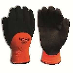 Cordova 3990l Glove Cold Snap Plus Latex Palm Coated Glove Size Large 12 Pair