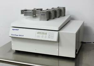 Eppendorf 5810r Benchtop Refrigerated Centrifuge W A 4 62 Rotor