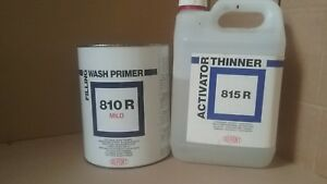 Dupont Wash Primer Filler Pack 8 Litre 810r 815r Etch For Bare Metal