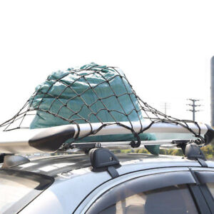 Cargo Cover Net Roof Web Bed Tie Down Hooks For Jeep Dodge Chrysler 2002 2018