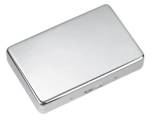 Free Engraving Personalized Bulk Silver Business Card Holder With Pockets