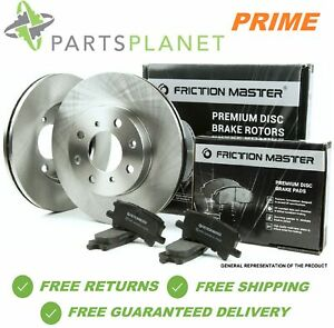 Front Brake Rotors And Pads Fits 2006 2007 2008 Honda Civic Dx Lx Ex Coupe Sedan