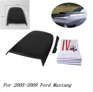 Gt V8 Racing Hood Scoop Replace Abs Plastic Newly For 2005 2009 Ford Mustang