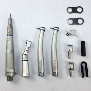 Dental 2 High 1 Low Speed ex 203 Pana max Handpieces Kit 2holes Wrench Type
