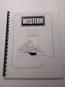 Western Snow Plow Cable Controlled Isarmatic Pump Service Repair Manual