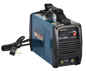 S160 am 160 Amp Stick Arc Dc Inverter Welder 110v 230v Dual Voltage Welding