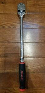new Snap On 1 2 Shl80a Dual 80 Red Soft Grip Ratchet Free Priority Shipping