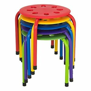 Norwood Commercial Furniture Nor auh1200ac so Plastic Stack Stools 12 Height Of