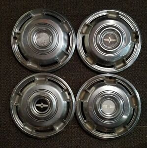 1968 1969 1970 Chevrolet Chevy Camaro Hubcaps Wheel Covers Center Caps Set Of 4