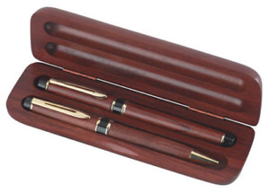 Free Engraving 2 Piece Gift Set Wooden Pen And Roller Ball Or Letter Opener Set