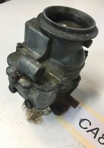 Ford Flathead Carburetor 94 Model 7rt 3 Hole Base For Parts Or Rebuild Rat Rod