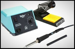 Weller Soldering Station Power Supply Pencil Stand Sponge Set Electronic Repair