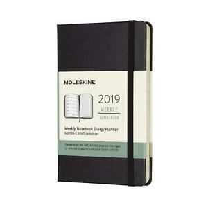 2019 12m Weekly Notebook Pocket Weekly Notebook Hard Different Sizes