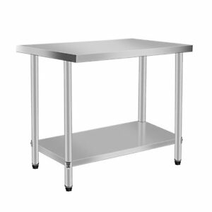 24 X 30 Stainless Steel Work Prep Table Commercial Kitchen Restaurant New Vn