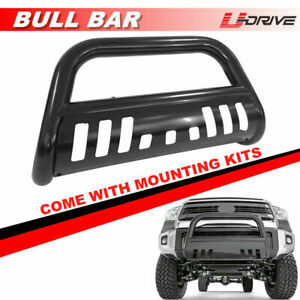 Black Bull Bar Front Bumper Grille Guard For 1994 2001 Dodge Ram 1500