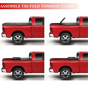 Assemble Tri Fold Tonneau Cover For 2005 2011 Dakota Quad Cab 5 3 Short Bed