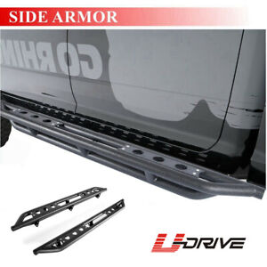 5 Stainless Oval Nerf Bars Running Boards For 2009 2018 Dodge Ram 1500 Quad Cab
