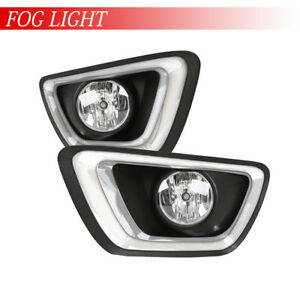 2015 2018 Chevy Colorado Assembly Pair Fog Lights Replacment