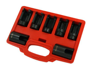 7pc Special Injector Socket Set Suitable For Most Injectors Bosch Nozzles