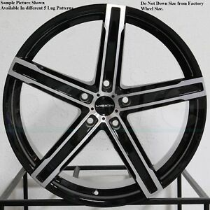 4 New 20 Wheels For Audi A3 A6 A8 S6 2007 2008 2009 2010 2011 2012 Rims 38510