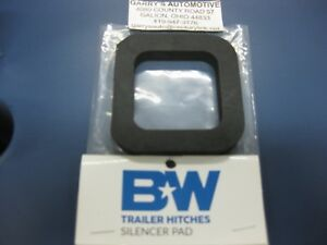 B W Silencer Pad Cushion Tow Stow Hitch Receiver Ts35020 2 Square