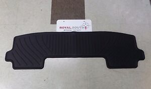 Toyota Highlander 08 13 Factory 3rd Row All Weather Rubber Floor Mat Genuine Oem