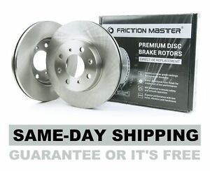Rear Disc Brake Rotors Fits 2001 2002 2003 2004 2005 2006 Hyundai Santa Fe