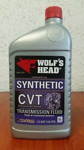 Wolf S Head Cvt Transmission Fluid For Dodge Jeep Nissan Pack Of 12 Qtr