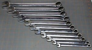 Snap On Tools 11 Pc Flank Drive Combination Wrench Set 3 8 1 Oex711