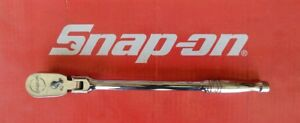 Snap On Tools 3 8 Drive Dual 80 Long Handle Flex Head Ratchet Flf80a Mint