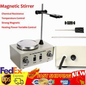 79 1 Magnetic Stirrer Hot Plate Controls Heating Plate Stir Bar Electric