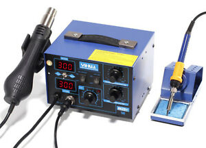 Yihua 862d 2 in 1 Electric Hot Air Gun Desoldering Station Rework Stations
