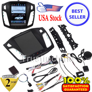 10 4 Tesla Style Stereo Car Radios Gps Navigation 32gb Fit For Ford Focus 12 15