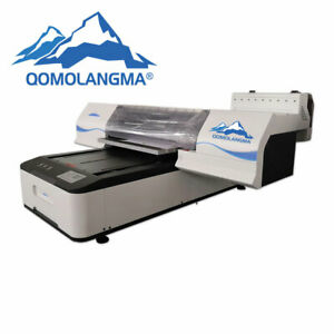 Qomolangma 60 90 Digital White Ink And Color Ink Flatbed Uv Printer by Sea