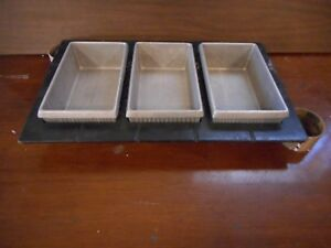 Professional Bakeware 4 Rectangular Pans Steam Table Hot Food Buffet Top