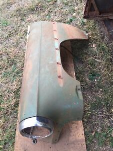 1953 Chevy Two Door Sedan Drivers Side Fender Nice Original Fender