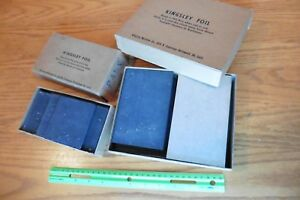 Kingsley Pad Lot Of 54 Pads For Vintage Hot Foil Stamping Machine