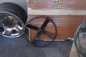 Chain Link Steering Wheel Vintage Lowrider Old School Tractor Steering Wheel