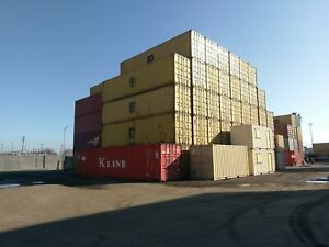 40 Hc 9 6 Tall Wind And Water Tight Shipping storage Container Wilmington Ca