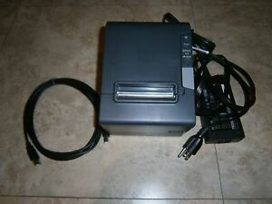 Epson Receipt Kitchen Order Printer M244a W Power Supply Tm t88v