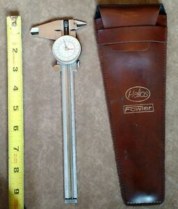 Fowler Helios 52 008 006 Dial Caliper German Made With Leather Case