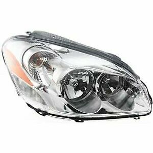 Headlight For 2006 2011 Buick Lucerne Right Clear Lens Halogen