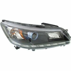 Headlight For 2014 2015 Honda Accord Sedan Right 4 Door Sedan W Bulb Capa